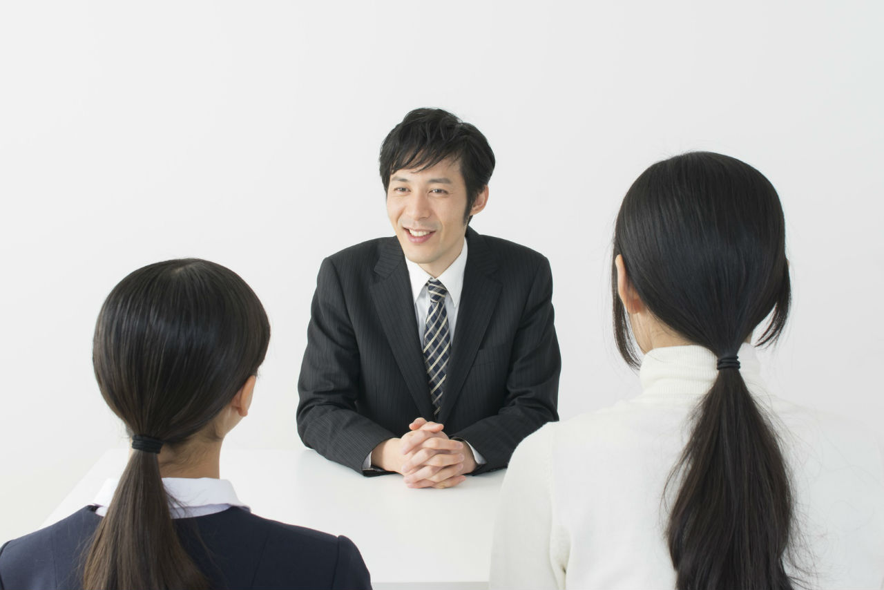 ご⾯談〜体験授業
